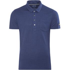 super.natural Comfort Piquet - Camiseta manga corta Hombre - azul